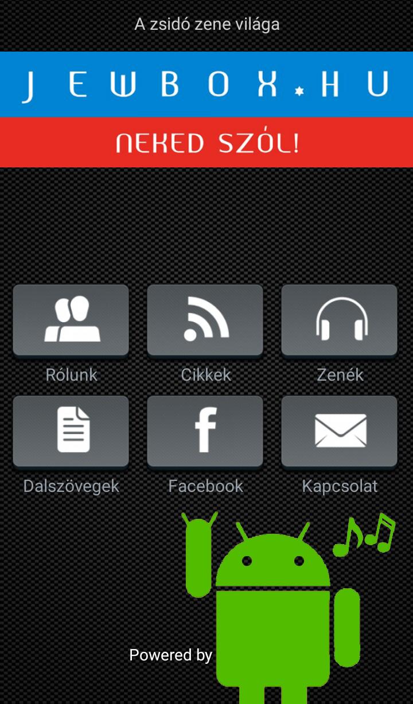 Jewbox jewish Music app